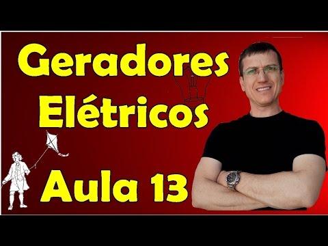 Associação de Geradores - Eletrodinâmica - Aula 13 - Prof. Marcelo Boaro