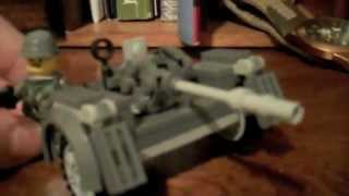 getlinkyoutube.com-Lego WW2 German Artillery and Vehicles
