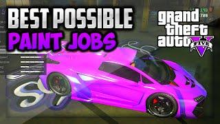 "getlinkyoutube.com-GTA 5 - Secret Paint Jobs! Best ""1.15 RARE Paint Jobs"" Car Color Guide (GTA 5 Best Paint Jobs)"