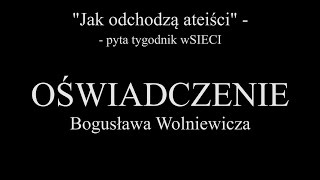 """getlinkyoutube.com-Bogusław Wolniewicz do tygodnika """"wSIECI"""""""