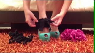 getlinkyoutube.com-Heel Condoms- How to dress up my shoes!