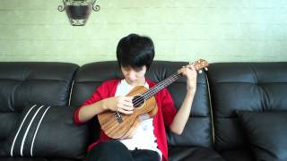 getlinkyoutube.com-Super Mario Theme - Sungha Jung (Ukulele)