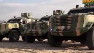 Guardian IAG 4x4 APC armoured vehicle personnel carrier test drive desert UNited Arab Emirates Inter