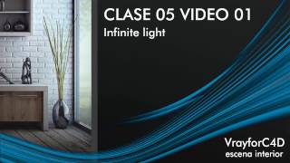 Curso completo de Vray para Cinema 4d / CLASE05 VIDEO01 / Infinite Light