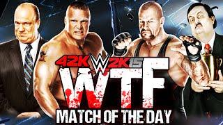 WWE 2K15: Brock Lesnar & Paul Heyman vs Undertaker & Paul Bearer