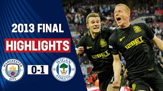 getlinkyoutube.com-HIGHLIGHTS EXTRA: Wigan Athletic vs Manchester City 1-0, FA Cup Final 2013