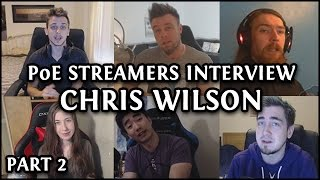 getlinkyoutube.com-Path of Exile Streamers Interview Chris Wilson (Pt 2/3) - Racing & Game Design