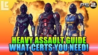 getlinkyoutube.com-Heavy Assault Certification Guide (Planetside 2 Gameplay/Commentary)