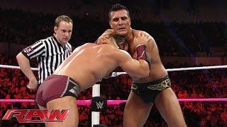 getlinkyoutube.com-Neville vs. Alberto Del Rio: Raw, October 26, 2015