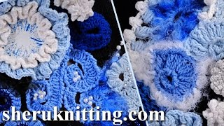 getlinkyoutube.com-Build Up Freeform Crochet Projects How to Tutorial 1 Part 2 of 2 Freeform Crochet Art