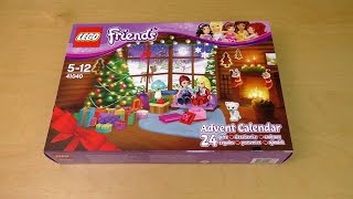 getlinkyoutube.com-Lego Friends Advent Calendar 2014
