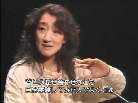 Debussy 12 Etudes : interview Mitsuko Uchida part1 (Germany) 日本語字幕付