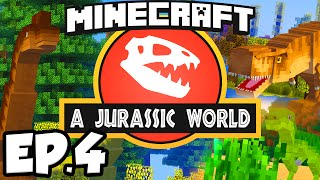 getlinkyoutube.com-Jurassic World: Minecraft Modded Survival Ep.4 - ABANDONED MINE!!! (Rexxit Modpack)