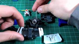 How to put an LED into a Gundam Part 1