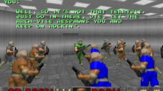 getlinkyoutube.com-GZDoom - Town Infection Doom 2 Mod - Beta Stage 1 - Map06