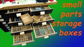 getlinkyoutube.com-Small Parts Storage Boxes