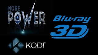 More Power for KODI with 3D movies