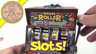 getlinkyoutube.com-High Roller Bank Slot Machine and Gumball Dispenser