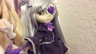 getlinkyoutube.com-Pullip Rozen Maiden Barasuishou doll review (2007 Jun Planning) imposter doll