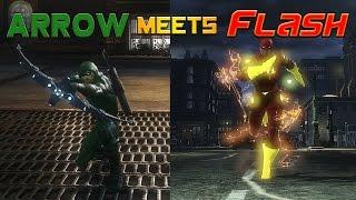 getlinkyoutube.com-Arrow Meets The Flash, What Really Happened! DCUO