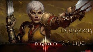 getlinkyoutube.com-Diablo 3 - How to Master - Monkey King's Garb (Sunwuko) Set Dungeon - Season 5 - Patch 2.4 Live