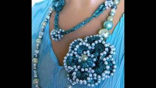 getlinkyoutube.com-How to make Crochet Jewelry Patterns on www.jewlzs.etsy.com