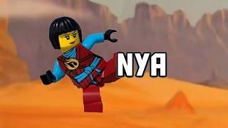 getlinkyoutube.com-LEGO Ninjago- Poznajcie Nyę- Wszystkie sezony