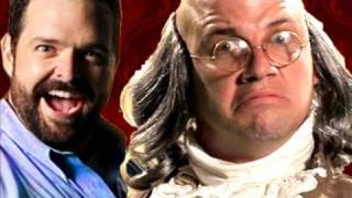 getlinkyoutube.com-Billy Mays vs Ben Franklin.  Epic Rap Battles of History #10