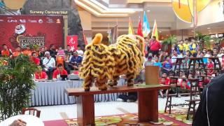 getlinkyoutube.com-Traditional Lion Dance Championship 2013 Pt 5 @ Sunway Carnival Mall