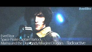 "getlinkyoutube.com-""RADIOACTIVE"" (Space Pirate Captain Harlock)"