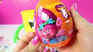 Cubeta Sorpresa de Play Doh Con Juguetes Shopkins MLP Disney  Mundo de Juguetes