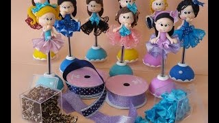 DIY- Cantinho dos Sonhos-Canetas-biscuit