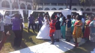 Kalenjin wedding entrance