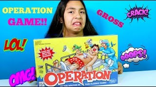 getlinkyoutube.com-OPERATION GAME!! I'm a Doctor | Family Games |B2cutecupcakes