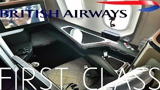 getlinkyoutube.com-British Airways FIRST CLASS Austin to London|787-9 Dreamliner