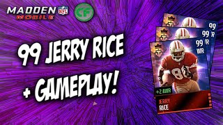 getlinkyoutube.com-Madden Mobile 16 - 99 JERRY RICE! GAMEPLAY/REVIEW!