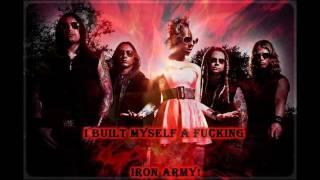 getlinkyoutube.com-In This Moment - Iron Army (with lyrics)