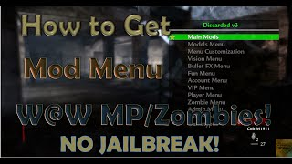 getlinkyoutube.com-(No Jailbreak) How to get Mod Menu on World at War PS3 Online Tutorial!
