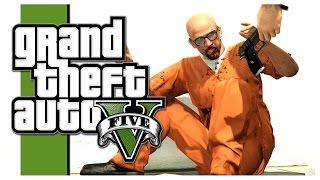 GTA 5 - PRISON BREAK! (Grand Theft Auto V Heists)