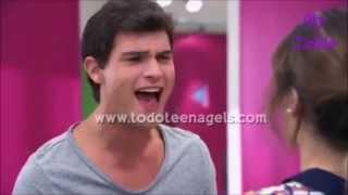 getlinkyoutube.com-Violetta - Leon VS  Diego
