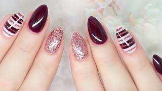 getlinkyoutube.com-Elegant Fall Nails