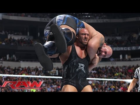 Big Show vs. Ryback: Raw, Nov. 18, 2013