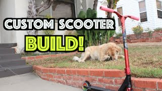 getlinkyoutube.com-Building a Custom Scooter!