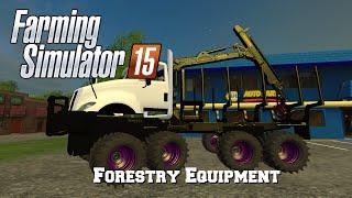 getlinkyoutube.com-Farming Simulator 2015: Mod Spotlight #14: Forestry Equipment