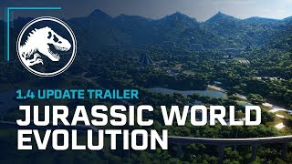 Jurassic World Evolution - 1.4-es Frissítés Trailer