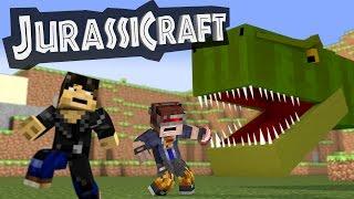 getlinkyoutube.com-JurassiCraft Mod : Minecraft Mod Showcase