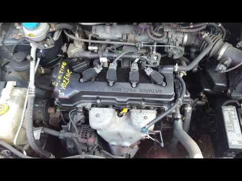 Контрактный двигатель Nissan (Ниссан) 1.8 QG18DE   Где ?   Тест мотора