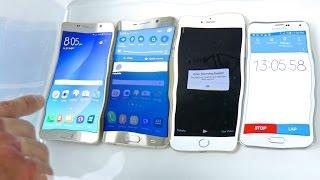 getlinkyoutube.com-Samsung Galaxy Note 5 VS S6 Edge Plus VS iPhone 6 Plus Water Test! Waterproof?