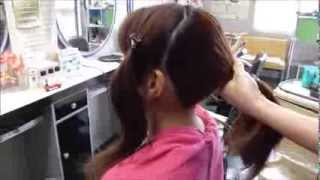 getlinkyoutube.com-浴衣に似合う髪型 簡単ヘアアレンジ2