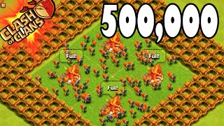 "getlinkyoutube.com-Clash of Clans - 500,000! ""WALLBREAKER DONATION TROLLING!"" + House / Car / Setup Tour! 500,000 Video"